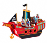 Lanka Kade Pirate Ship 3 pirates 12 accessories